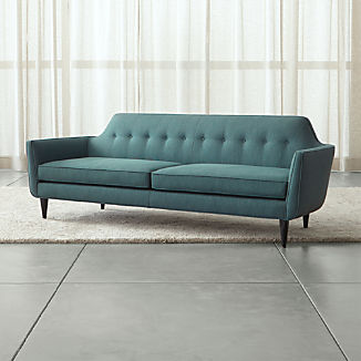 Mid Century Modern Couches | Crate and Barrel
