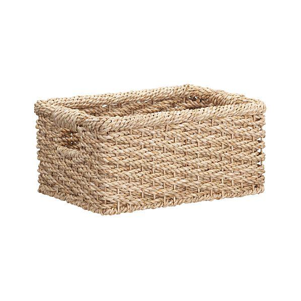 Gigi Small Low Basket