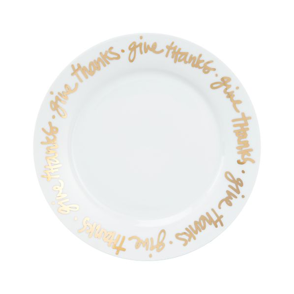 """Give Thanks 8.25"""" Plate"""