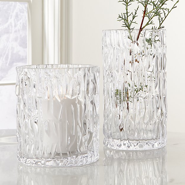 Glacier Glass Vase - Image 1 of 3