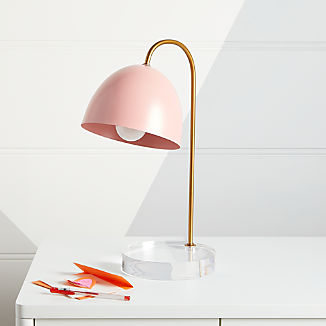 Glam Pink and Gold Table Lamp