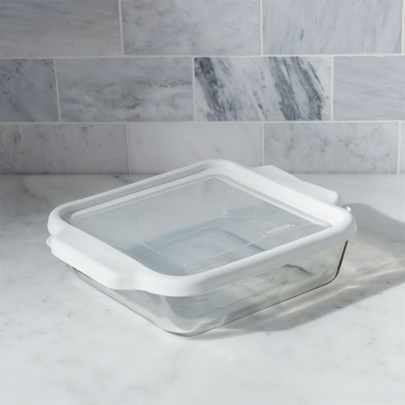Glass Bake and Store Square Casserole Dish Reviews Crate and Barrel