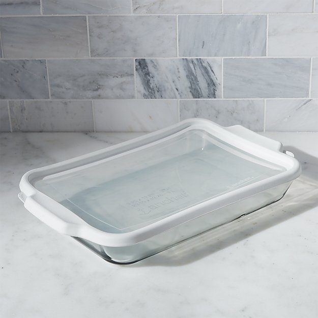 Glass Bake and Store Rectangular Casserole Dish