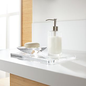 Bathroom accessories and furniture crate and barrel for Looking for bathroom accessories