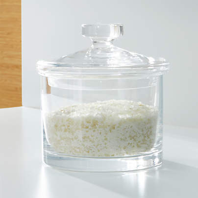 View testMedium Glass Canister
