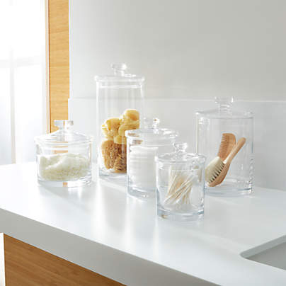 View testGlass Canisters