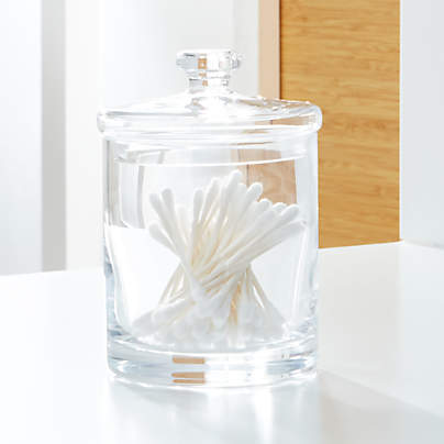 View testSmall Glass Canister