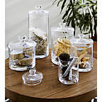 View product image GlassCanistersSetof5JL18 - image 3 of 11