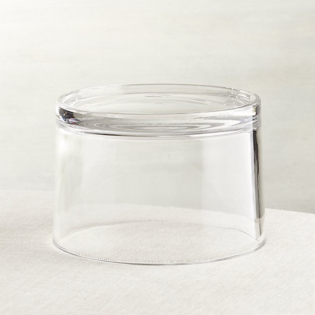 Glass Drink Dispenser Riser - Crate & Barrel