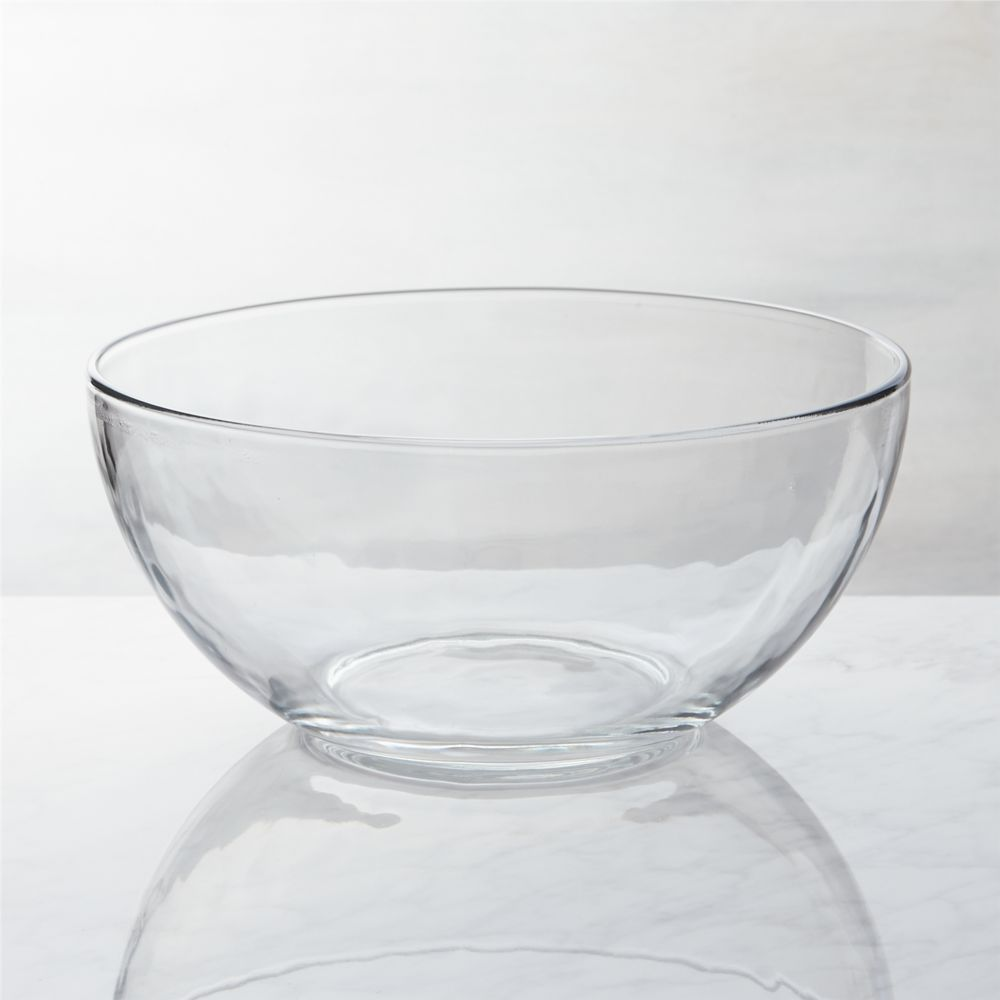 Glass Serving Bowl - Crate and Barrel