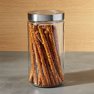 Medium Gl Storage Canister With Stainless Steel Lid