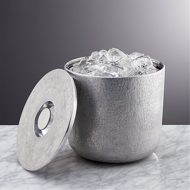 Glaze Ice Bucket Crate And Barrel
