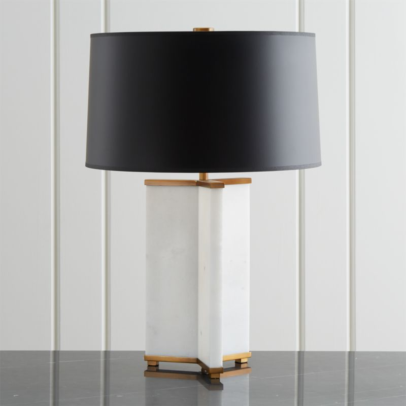 Gleam Alabaster Table Lamp