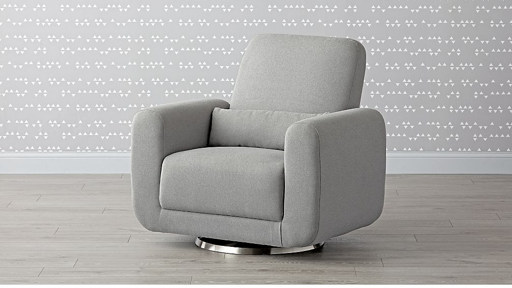 Babyletto Tuba Swivel Glider Chair And A Half Reviews Crate And Barrel
