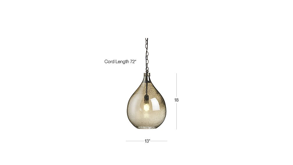 Glass Teardrop Pendant Light In Pendant Lighting Reviews