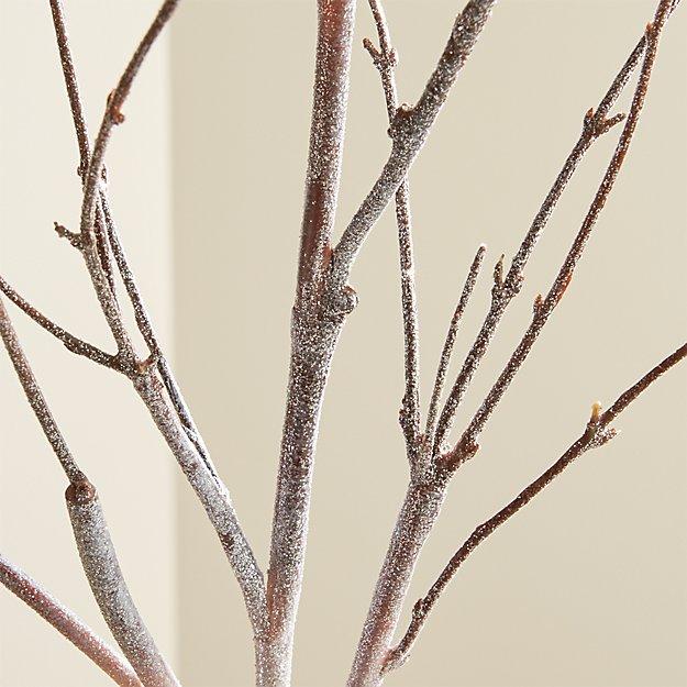 Glitter Birch Stem - Image 1 of 11