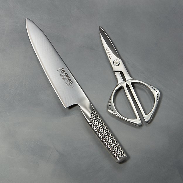 Global ® 2-Piece Knife and Shears Set