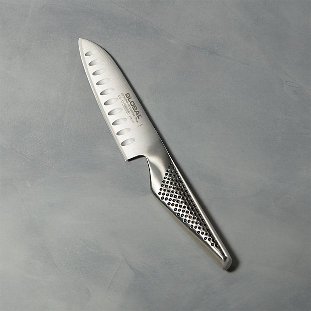 "Global ® 5"" Hollow Ground Santoku Knife"