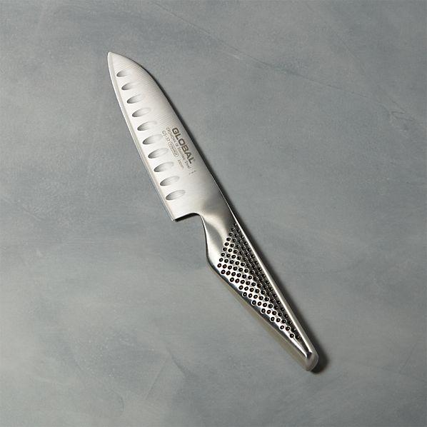 "Global ® 5"" Hollow Ground Santoku Knife"