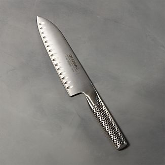 "Global ® 7"" Hollow-Ground Santoku Knife"
