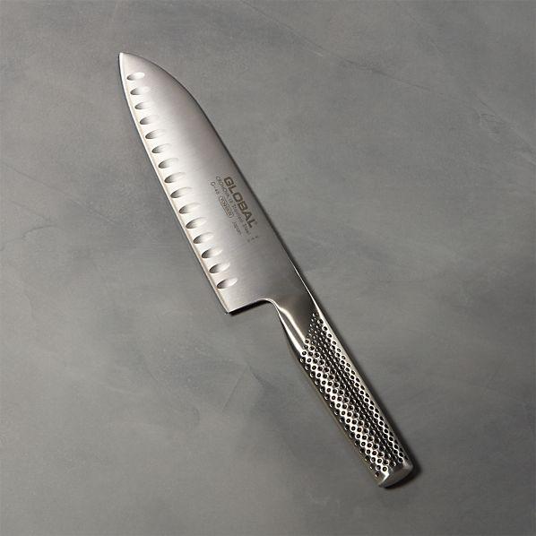 "Global ® 7"" Hollow-Ground Santoku Knife"