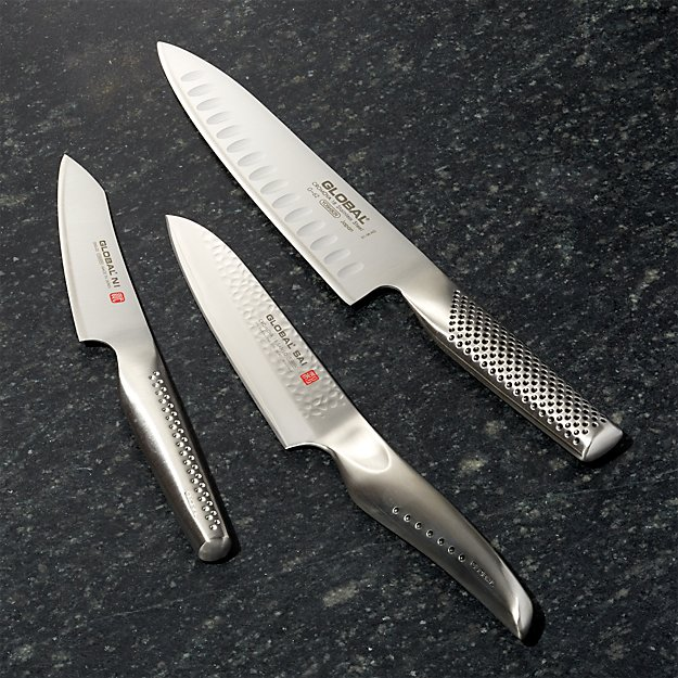 Global ® 3-Piece Kazoku Hybrid Knife Set - Image 1 of 2