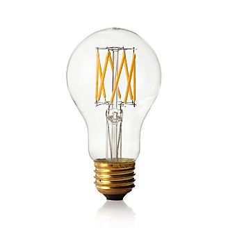 light bulbs filament globe and candelabra crate and barrel. Black Bedroom Furniture Sets. Home Design Ideas