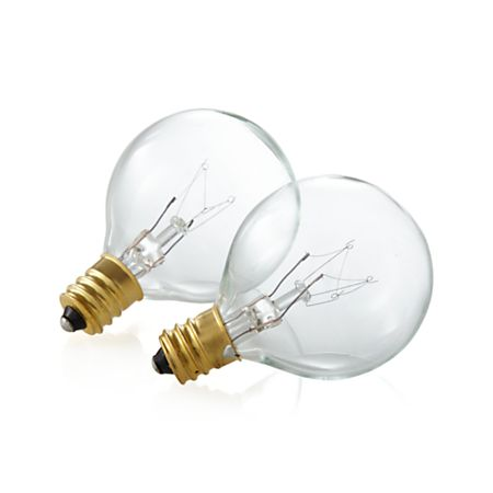Globe Replacement Bulb Set Of 2