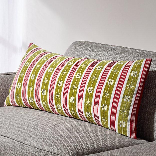 Gloria Velvet Lumbar Pillow - Image 1 of 6