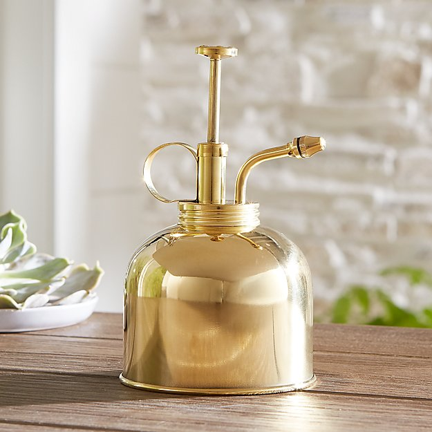 Gold Plant Mister Reviews Crate And Barrel