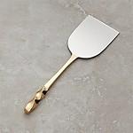 Gold Wedge Cheese Knife