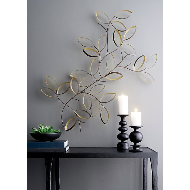 Leaves Wall Art Crate And Barrel