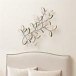 Golden Leaves Wall  Art