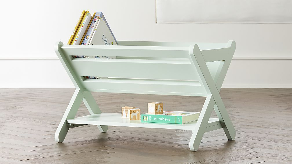 Good Read Mint Book Caddy + Reviews | Crate and Barrel