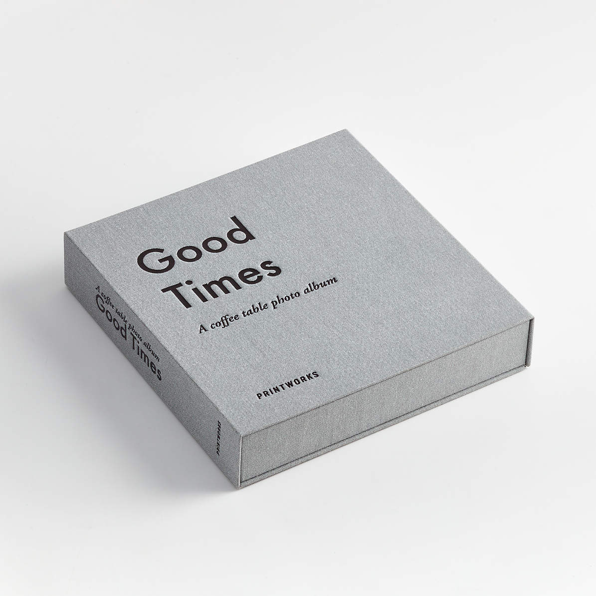 Good Times Photo Album Book Reviews Crate And Barrel