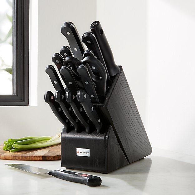 Wusthof ® Gourmet 16-Piece Black Knife Block Set - Image 1 of 2