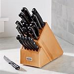 Wüsthof ® Gourmet 18-Piece Natural Knife Block Set
