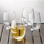 Govino ® Shatterproof Plastic Stemless Wine Glasses, Set of 4