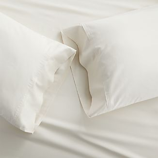 Grace Ecru Standard Pillow Cases, Set of 2