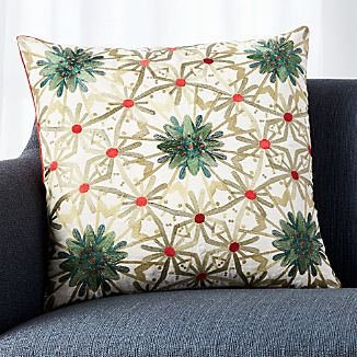 "Grace 20"" Pillow with Down-Alternative Insert"