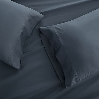 Grace Vintage Indigo Standard Pillow Cases, Set of 2