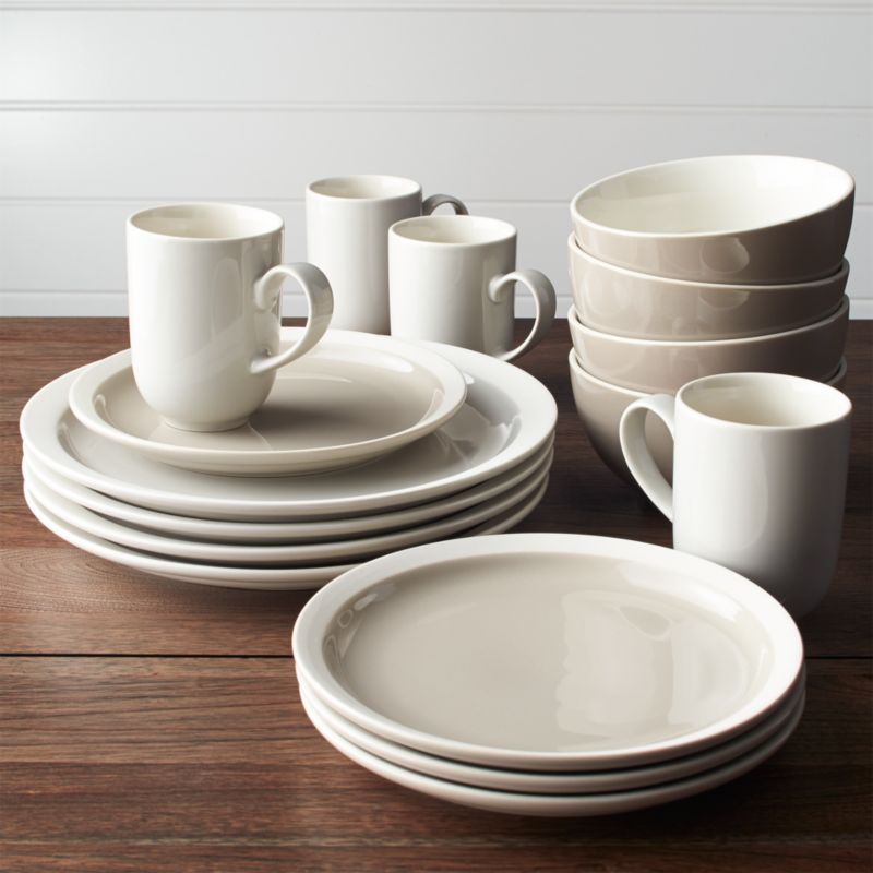 & Graeden 16-Piece Dinnerware Set + Reviews | Crate and Barrel