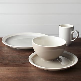 Graeden 4-Piece Place Setting & CB2 Dinnerware | Crate and Barrel