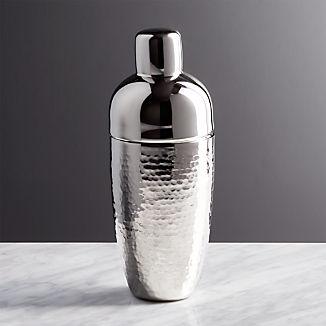 Graham Hammered Metal Cocktail Shaker