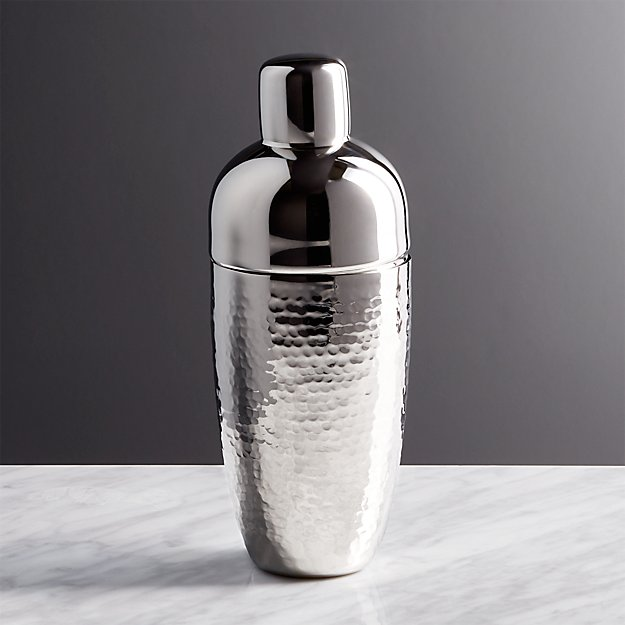 Graham Hammered Metal Cocktail Shaker - Image 1 of 7