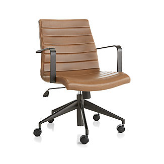 Graham Brown Leather Desk Chair
