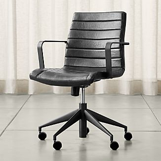 Graham Black Office Chair