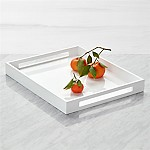 Grant White Serving Tray
