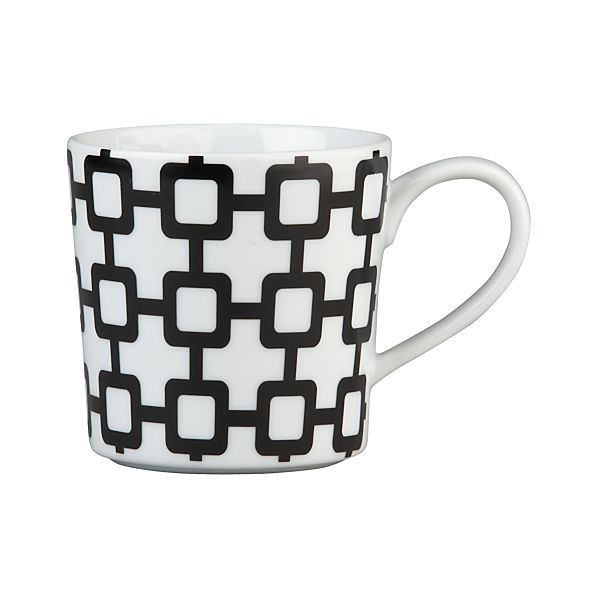 Graphic Grid Mug