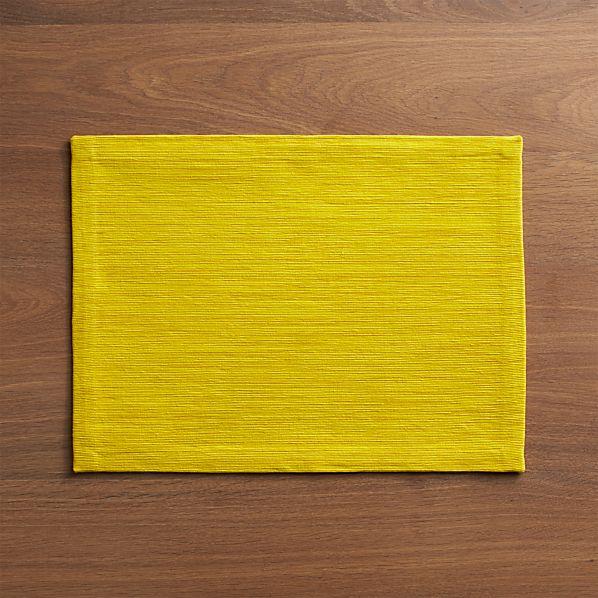 Grasscloth Maize Placemat